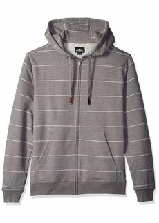 O'Neill Men's Front Zip Fleece Sweatshirt Hoodie  L