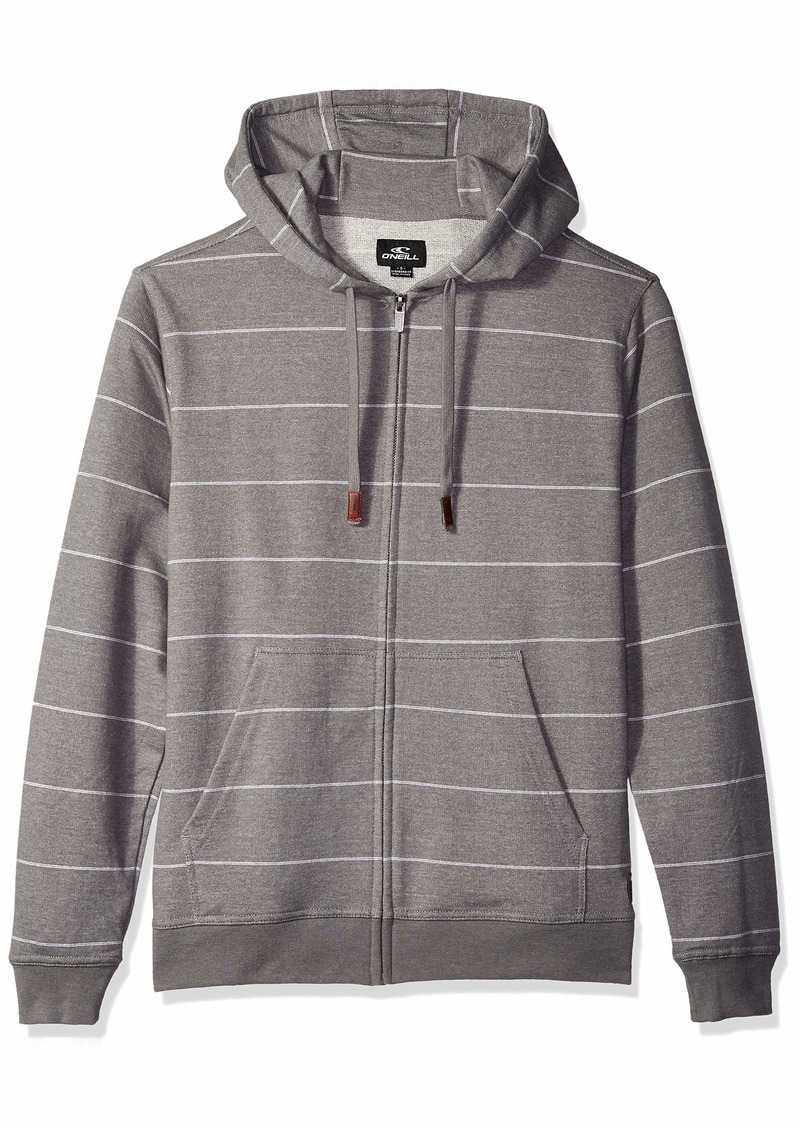 O'Neill Men's Front Zip Fleece Sweatshirt Hoodie  M