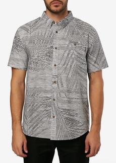 O'Neill Men's Fronzarelli Leaf Print Woven Shirt
