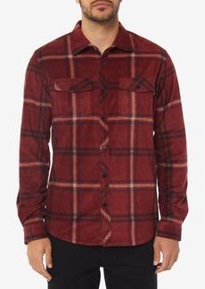 O'Neill Men's Glacier Ridge Standard-Fit Plaid Super Fleece Shirt
