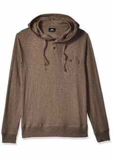 O'Neill Men's Hooded Henley Knit Top  L