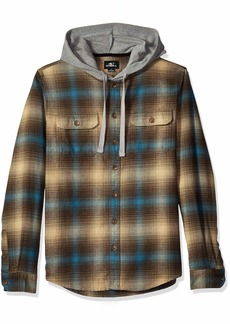 O'Neill Men's Hooded Shacket Shirt  M