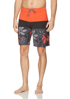 O'Neill Men's Hyperfreak Lahaina Boardshort neon red