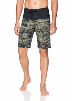 O'Neill Men's Hyperfreak Print Quick Dry Stretch Boardshort