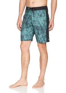 O'Neill Men's Hyperfreak Puzzle Boardshort deep Teal