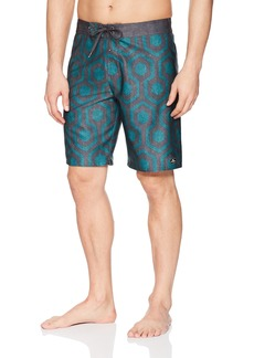 O'Neill Men's Hyperfreak Quick Dry Stretch with Back Pocket Boardshort