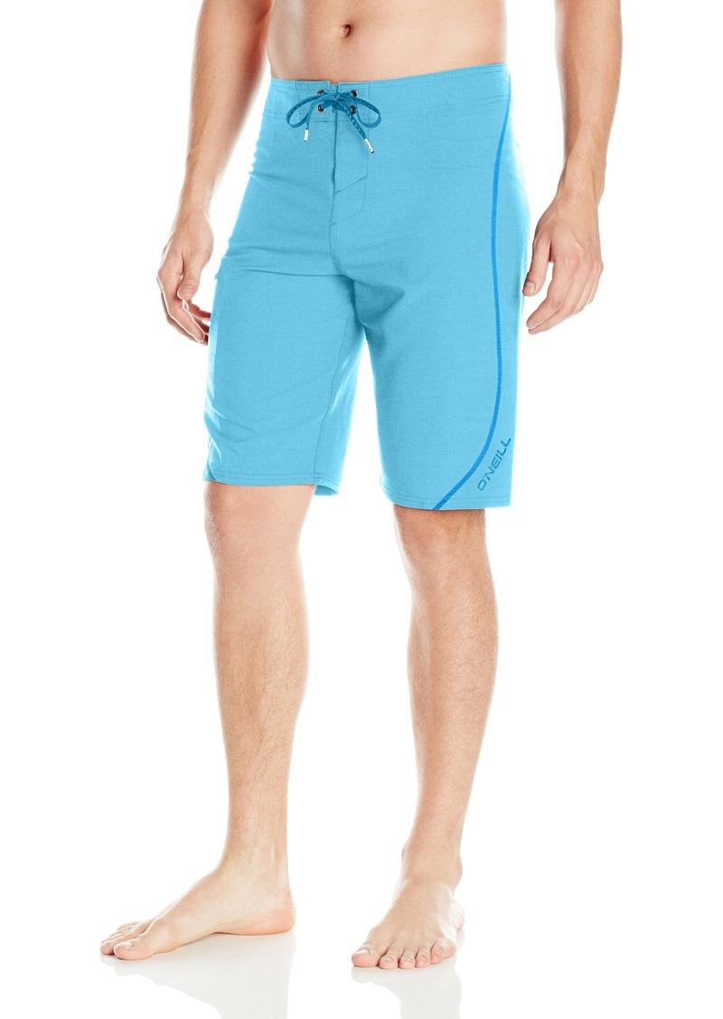 O'Neill Men's Hyperfreak S-seam Quick Dry Stretch Boardshort light blue heather