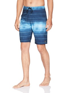 O'Neill Men's Hyperfreak Stripe Quick Dry Stretch Boardshort