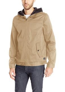 O'Neill Men's Light Weight Rain Windbreaker Jacket Khaki/Junction
