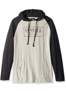 O'Neill Men's Light Weight Pullover Sweatshirt Hoodie Fog/League XL