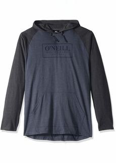 O'NEILL Men's Light Weight Pullover Sweatshirt Hoodie Slate/League XL