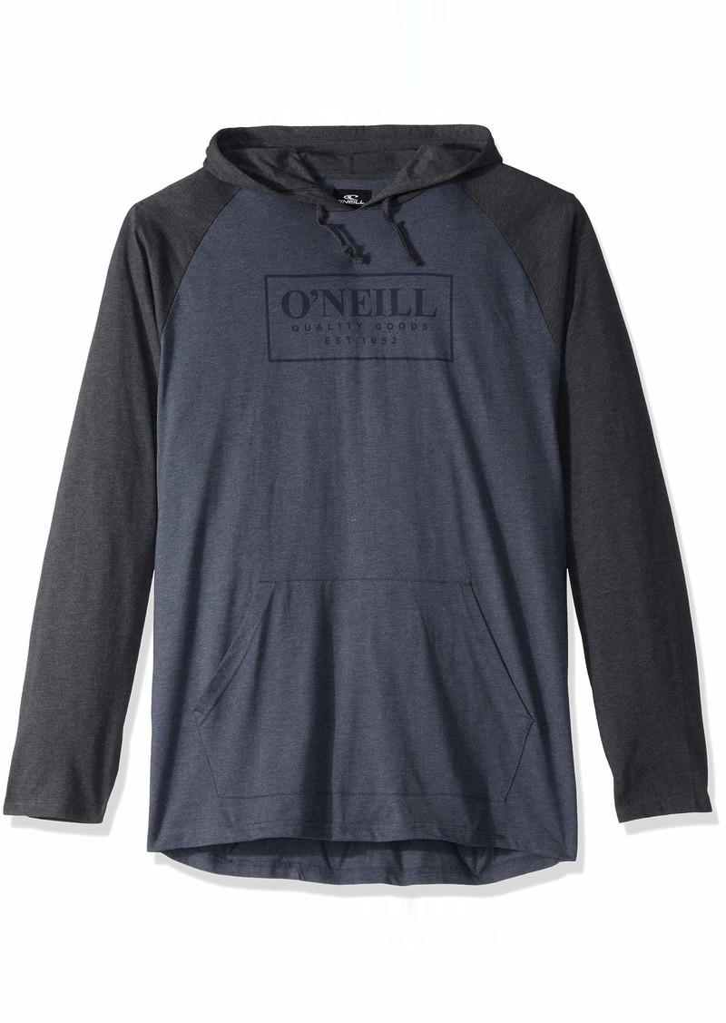 O'NEILL Men's Light Weight Pullover Sweatshirt Hoodie Slate/League XL