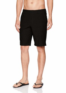 O'Neill Men's Locked Stripe Quick Dry Hybrid Boardshort