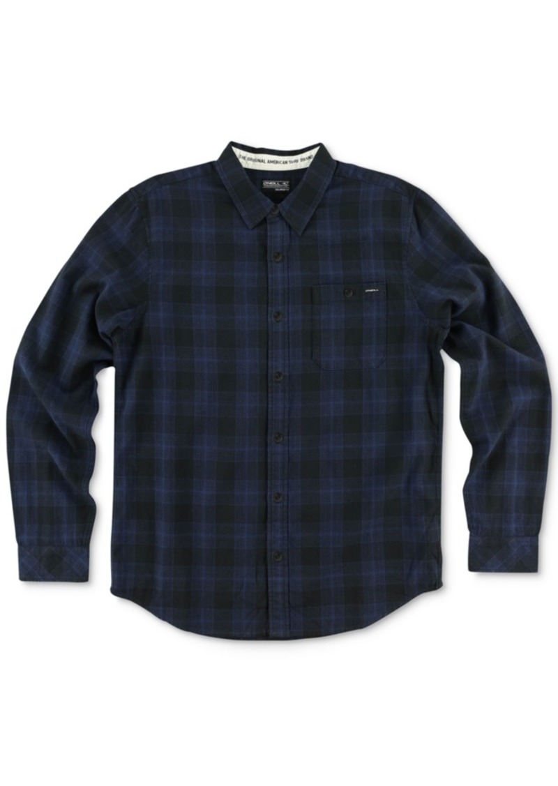 O'Neill Men's Long-Sleeve Sutherlin Plaid Flannel Shirt