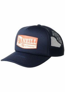 O'NEILL Men's Mesh Back Adjustable Trucker Hat Navy/Tackle Box