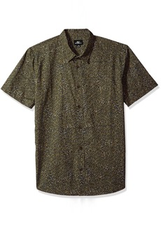O'Neill Men's Modern Fit Cotton Short Sleeve Woven Shirt  M