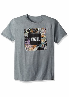 O'Neill Men's Modern Fit Graphic T-Shirt Freak Zone  Heather Grey M