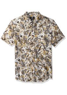 O'Neill Men's Modern Fit Short Sleeve Woven Party Shirt  XXL