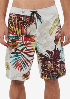 "O'Neill Men's Mondaze Tropical-Print Ultrasuede 20"" Board Shorts"