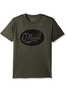 O'Neill Men's Premium Heather Logo Property Tee Olive