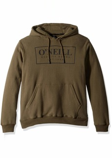 O'Neill Men's Pullover Front and Back Logo Hooded Sweatshirt  XL