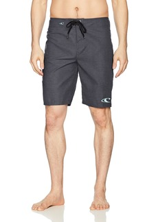 O'Neill Men's Santa Cruz Solid Boardshort solid heather black