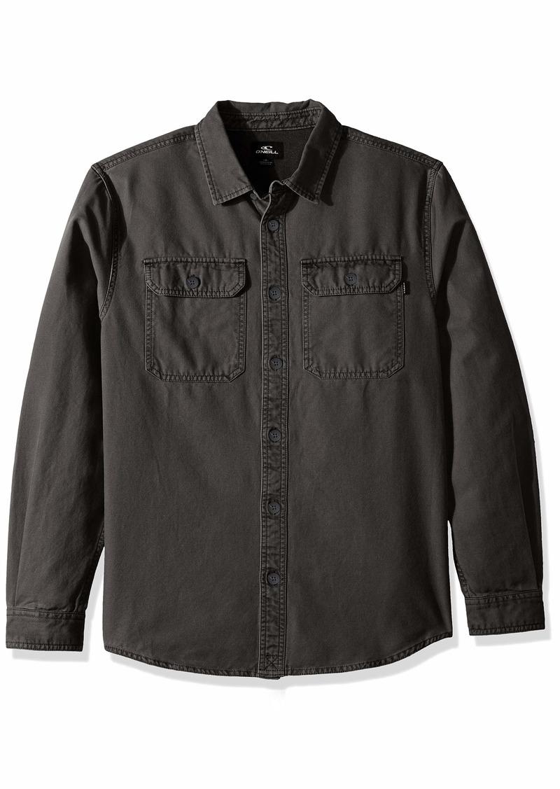 O'Neill Men's Seasons Long Sleeve Woven Shirt  S