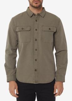 O'Neill Men's Seasons Standard-Fit Canvas Shirt
