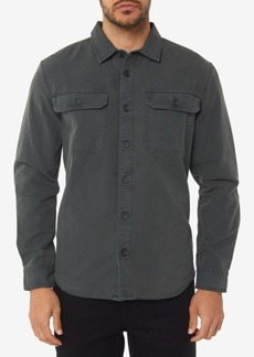 O'Neill Men's Seasons Standard-Fit Canvas Shirt