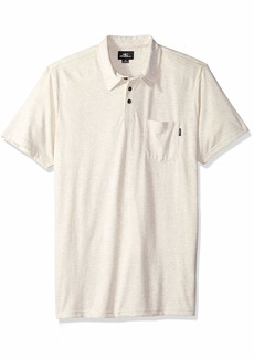 O'Neill Men's Short Sleeve Fraser Polo Shirt  L