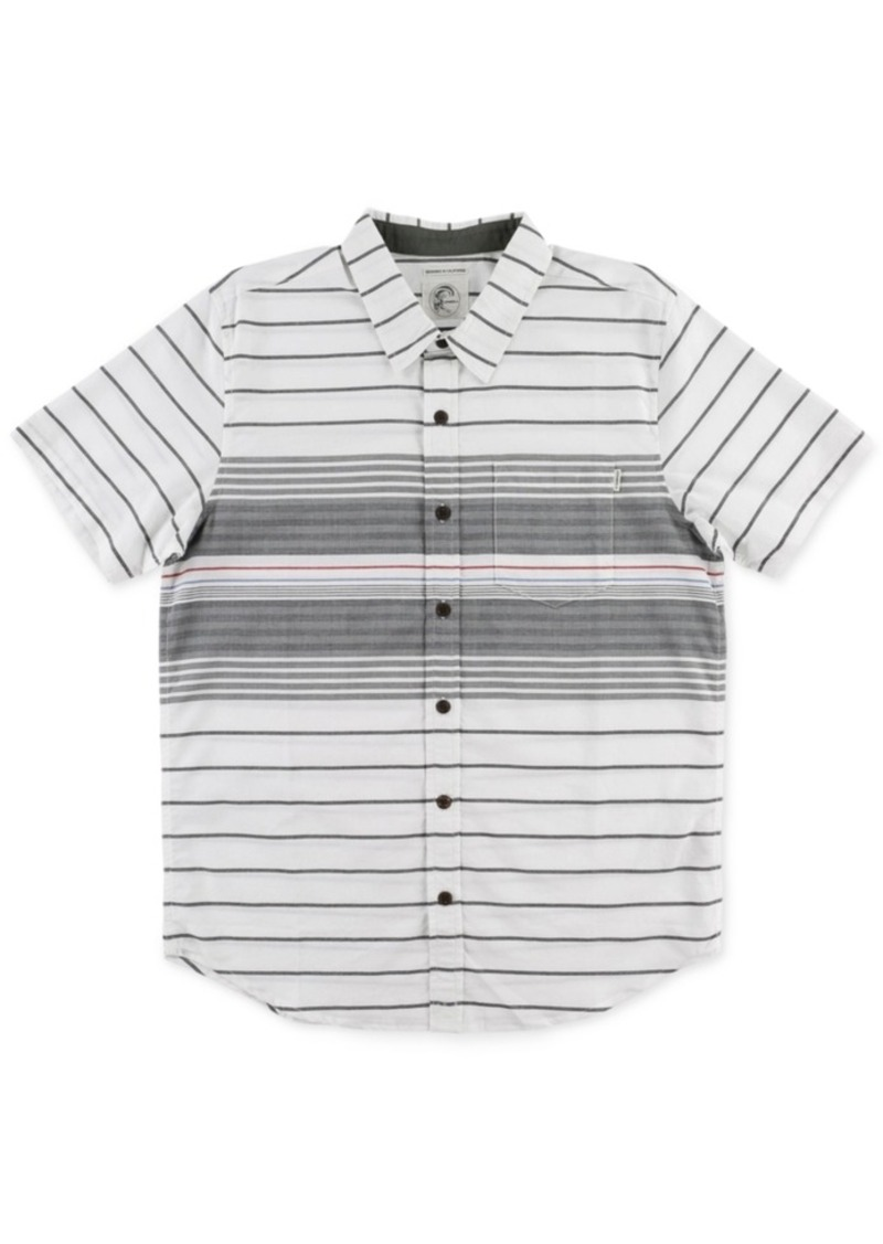 O'Neill Men's Short-Sleeve Tandy Stripe Shirt
