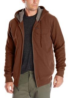 O'Neill Men's Shortrib Sherpa Hoodie Rust