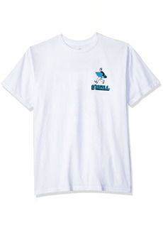 O'Neill Men's Standard Fit Front and Back Graphic T-Shirt  M