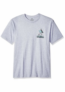 O'NEILL Men's Standard Fit Front and Back Graphic T-Shirt  S