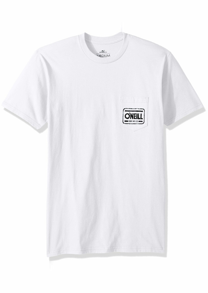 O'Neill Men's Standard Fit Front and Back Logo T-Shirt  XL