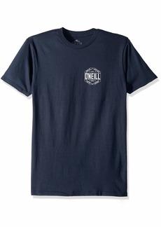 O'Neill Men's Standard Fit Pocket Logo Short Sleeve Tee Shirt  M