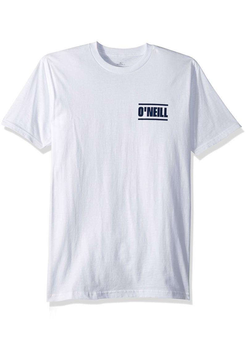 O'NEILL Men's Standard Fit Pocket Logo Short Sleeve Tee Shirt  S