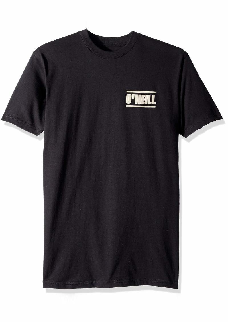 O'Neill Men's Standard Fit Pocket Logo Short Sleeve Tee Shirt  XL