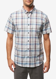 O'Neill Men's Sterline Standard-Fit Yarn-Dyed Plaid Shirt