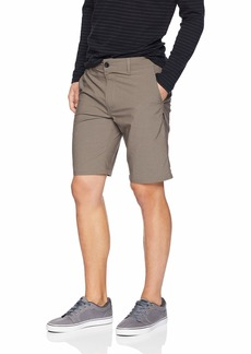 O'Neill Men's Stockton Stretch Twill Hybrid Boardshort