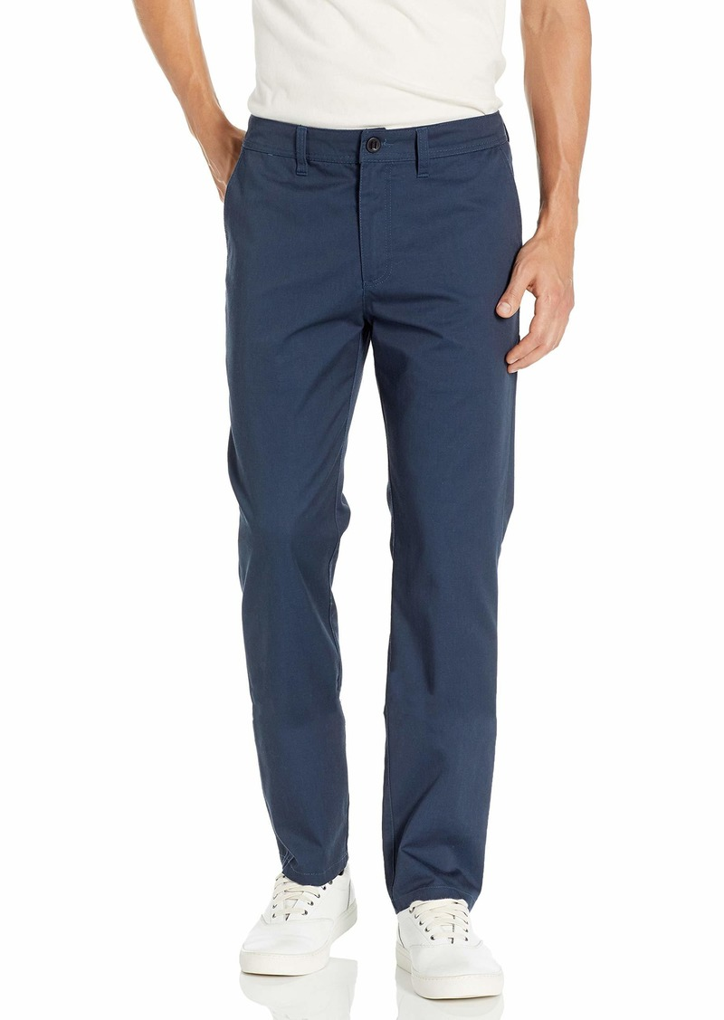 O'NEILL Men's Straight Fit Classic Chino Pant Navy/The Standard