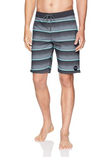 O'Neill Men's Stripe Cruzer Stretch Boardshort