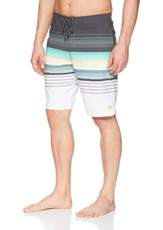 O'Neill Men's Striped Cruzer Stretch Boardshort