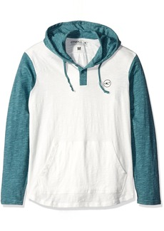 O'Neill Men's The Bay Hooded Henley hirt  mall