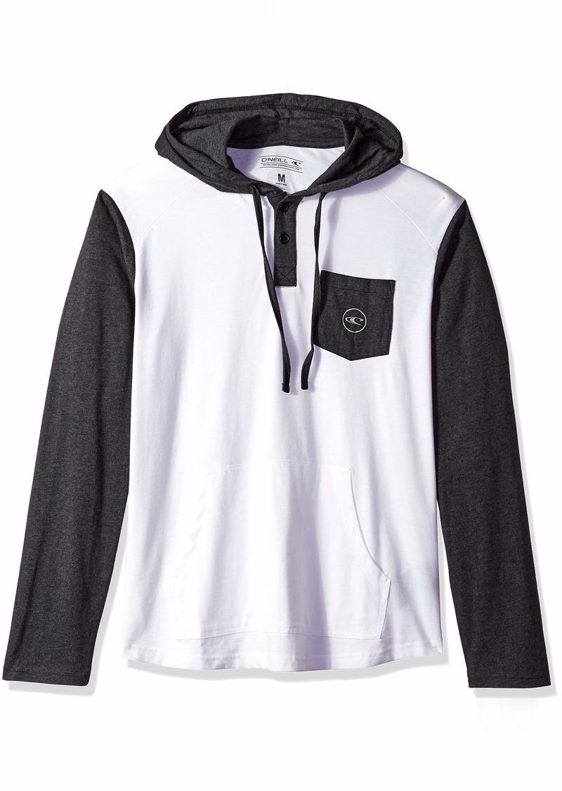 O'Neill Men's The Coast Hooded Henley Shirt  XL
