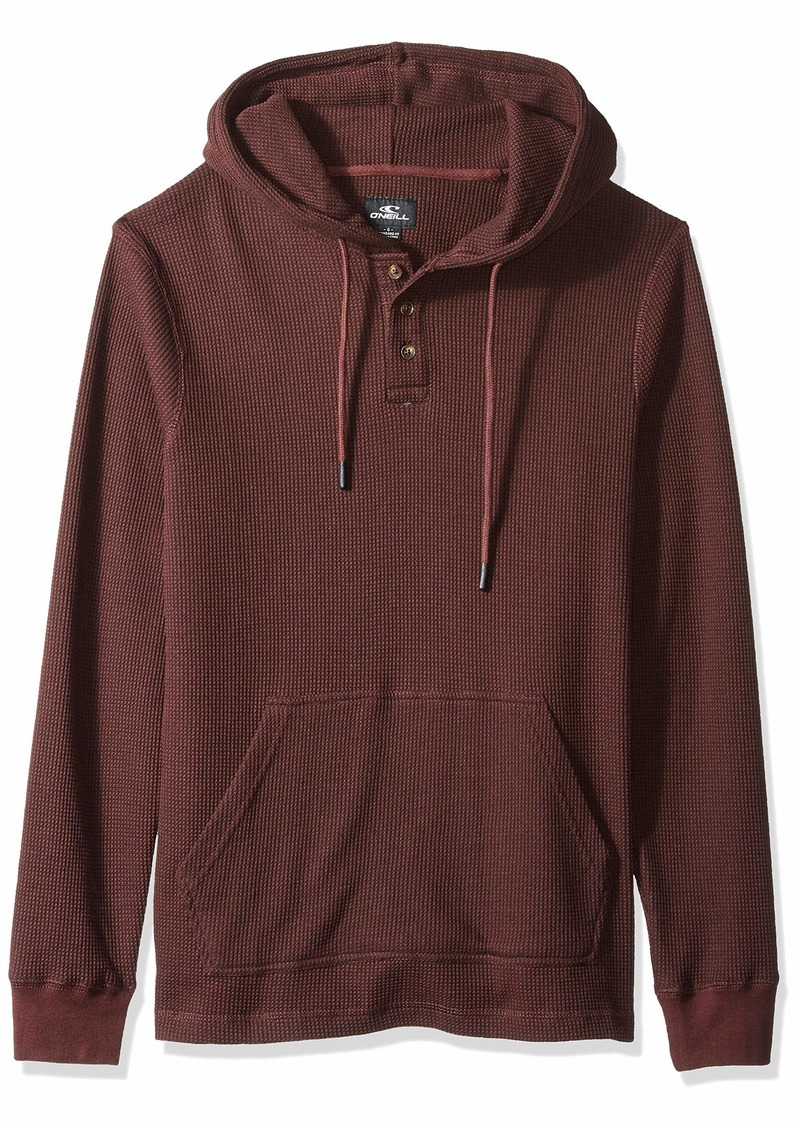 O'Neill Men's Thermal Hoodie Henley Shirt  S
