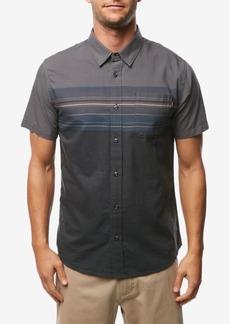 O'Neill Men's Thurston Chest Stripe Short Sleeve Woven