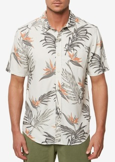 Jack O'Neill Men's Tropical Paradise Hawaiian Shirt