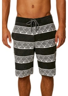 O'Neill Men's Vintage Wash Cruzer Stretch Boardshort wagner black