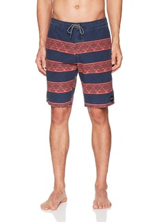 O'Neill Men's Vintage Wash Cruzer Stretch Boardshort wagner navy